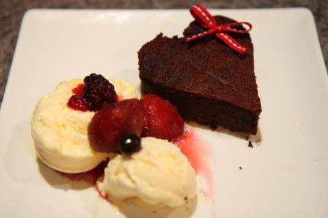 Chocolate Valentino - A flourless chocolate cake